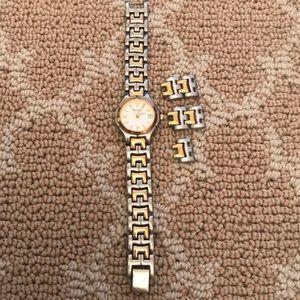 Bulova 2 toned watch
